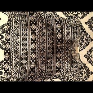 Aztec print top